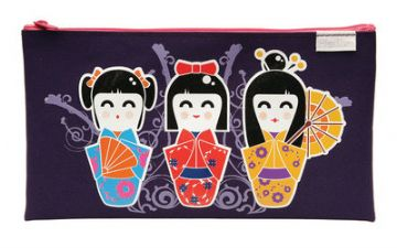 PENCIL CASE  JAPANESE DOLLS DESIGN by MAPED